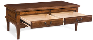 Rectangle Coffee Table, Alder-3
