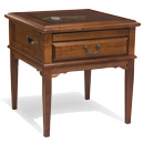 Square Display Table Right, Alder