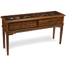 Display Sofa Table, Alder